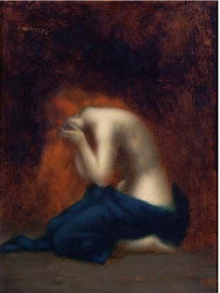 Solitude by Jean-Jacques Henner (1929-1905)  myaloysius: