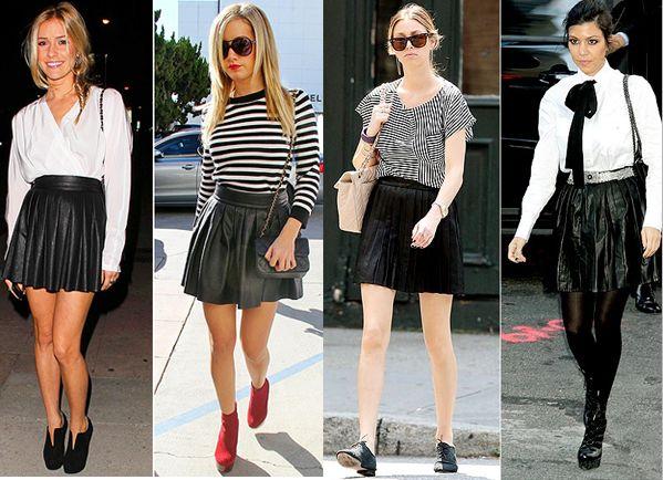 Best 25  Pleated leather skirt ideas on Pinterest | Sienna miller ...