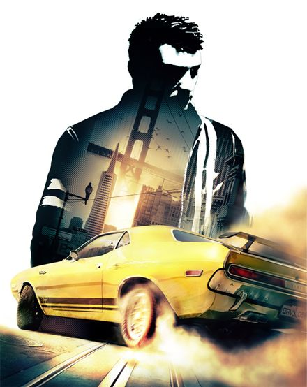 DRIVER - San Francisco - image created for the communication of Driver video-game production