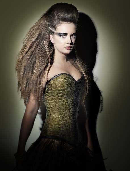 http://www.esteticamagazine.es My Collection by Schwarzkopf Professional. Photos: David Arnal. Stylist: Eunnis Mesa