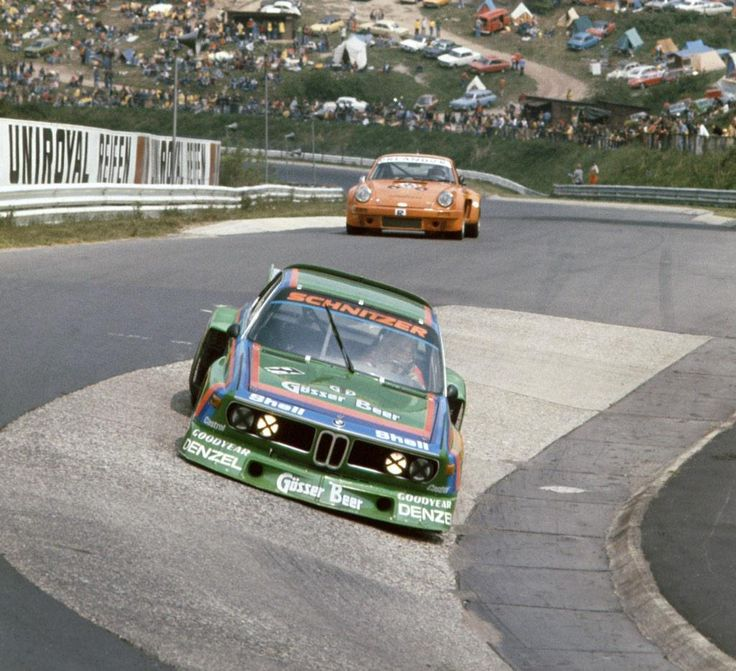 The Faltz BMW 3.5 CSL of Dieter Quester and Albrecht Krebs, winning car of the 1000 Kms Race in 1976