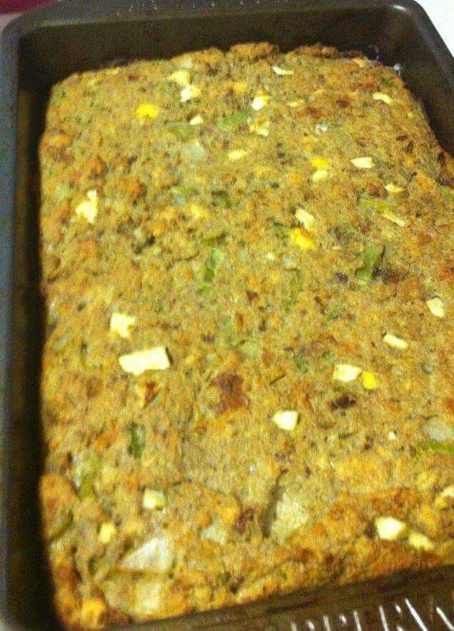 cornbread turkey stuffing recipe traditional chicken