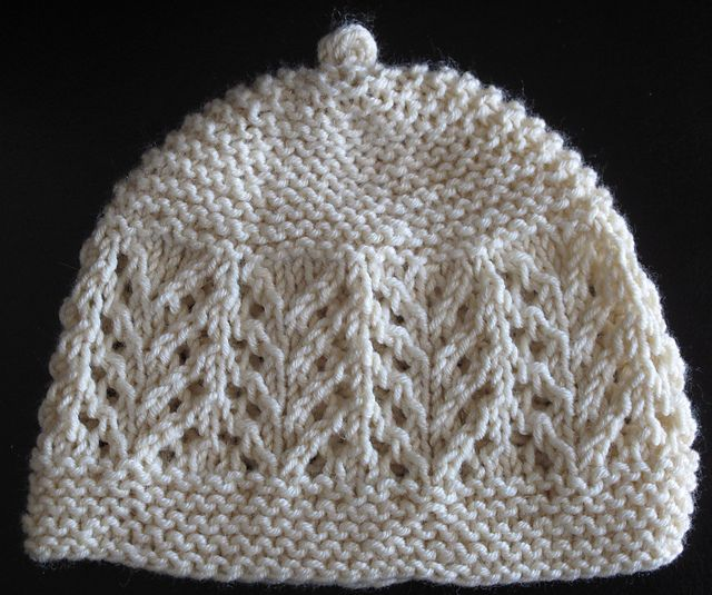 Ravelry: Gull Lace Baby Hat pattern by Joan Janes