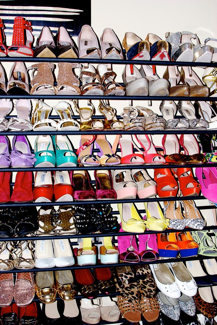 #FashionStar's Louise Rose's #shoe collection is to die for!