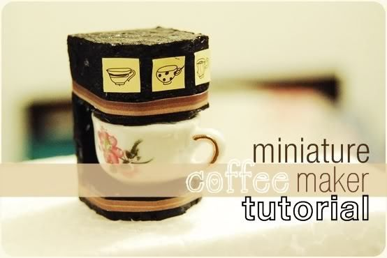 Coffee Maker En Espanol : 499 best images about TUTORIALES MINIATURAS on Pinterest Spanish, Minis and Advent calendar