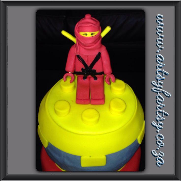 Lego Ninjago Sugar Figurine