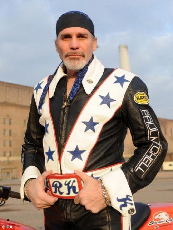 Robbie Knievel Stuntman Biker Jacket | Top Celebs Jackets