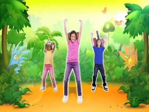 monkey dance, just dance kids - brain break