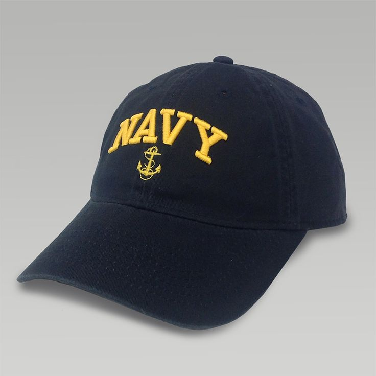 Navy Womens Anchor Arch Hat | ArmedForcesGear | Armed Forces Gear
