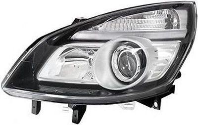 Renault Scenic II 2006- Facelift black cover left side drivers headlight HELLA