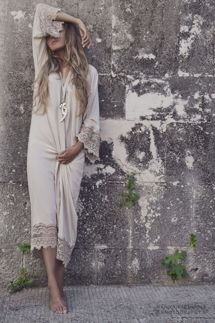 LW Lover Necklace & upcoming Moon Child Lace Kimono in 'Crescent Moon' (autumn'14)   © Hannah Lemholt Photography