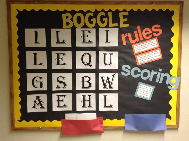 Boggle Bulletin Board TM March 2014                                                                                                                                                     More