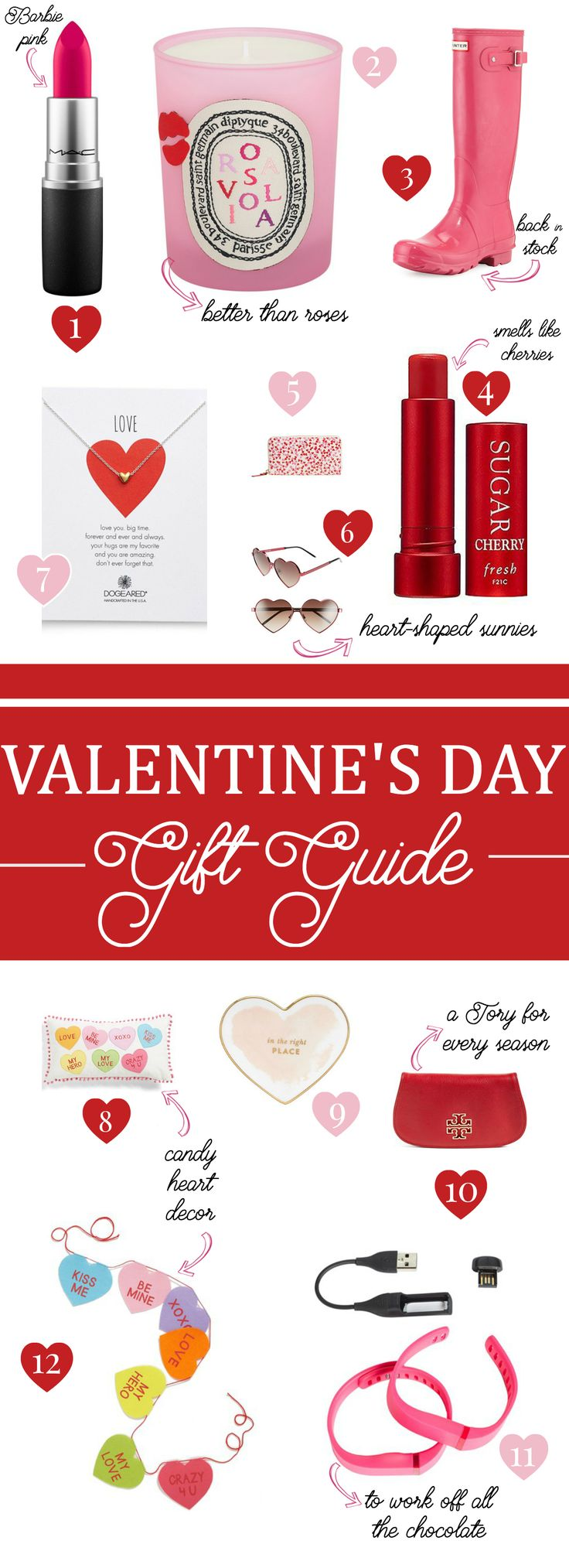 Valentine's Day gift ideas for any lady on your list-- yourself included.
