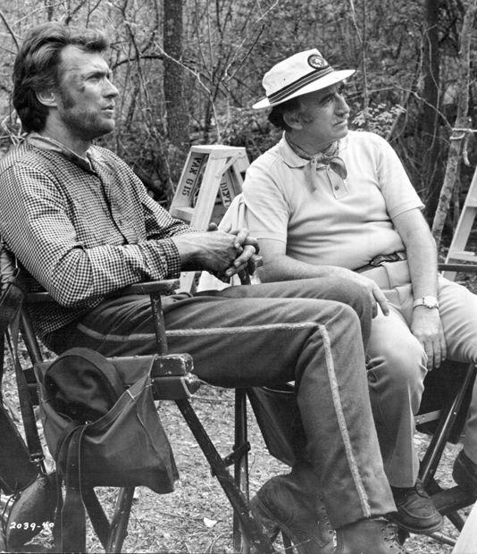 """Clint et Don Siegel sur le tournage des """"Proies"""""""