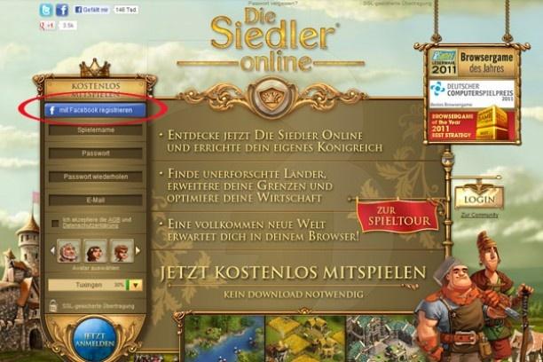 Die Siedler Online: Zu Facebook und zurück! | http://die-siedler-online.browsergames.de/tipps-und-tricks/6503/1/die-siedler-online-zu-facebook-und-zurueck.html