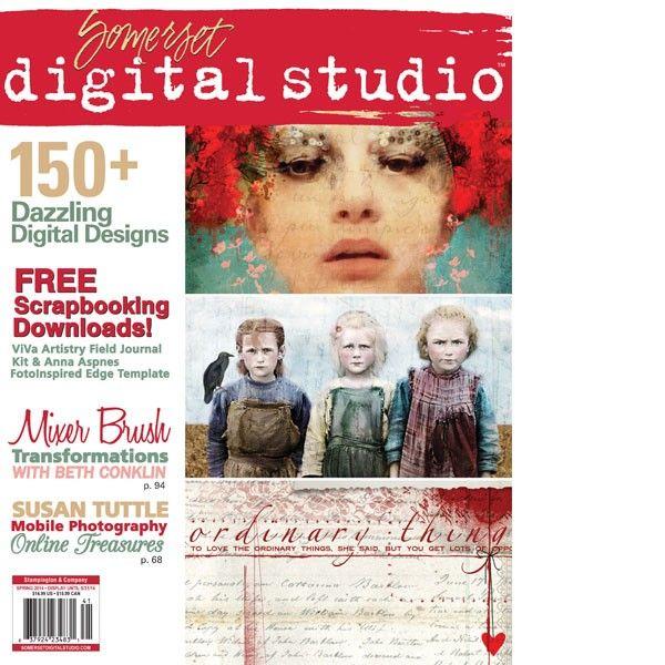 Feature in Digital Studio Magazine Spring 2014