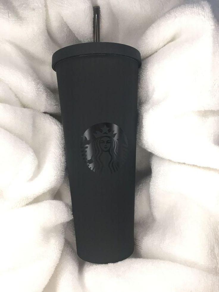 LIMITED EDITION Starbucks Matte Black Tumbler