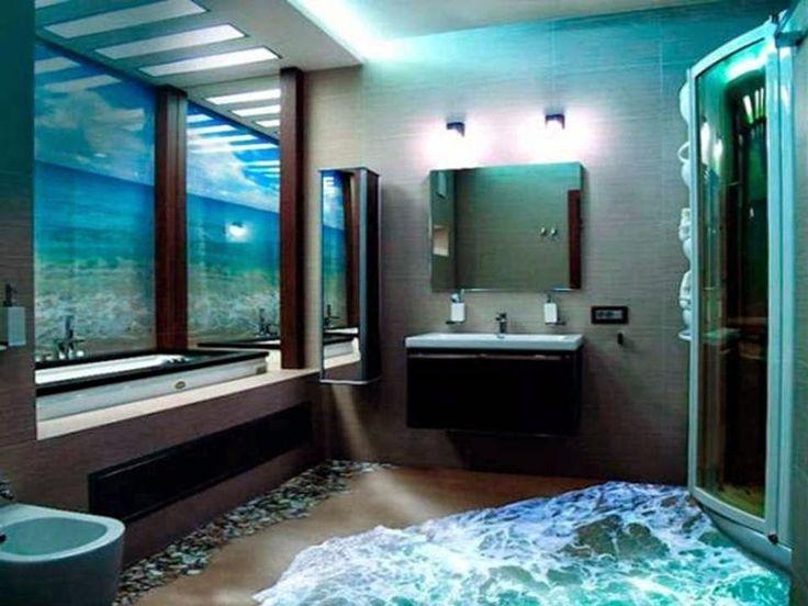 Design My Bathroom 3D 95 Best 3D Epoxy Floors  More Pics  Images On Pinterest