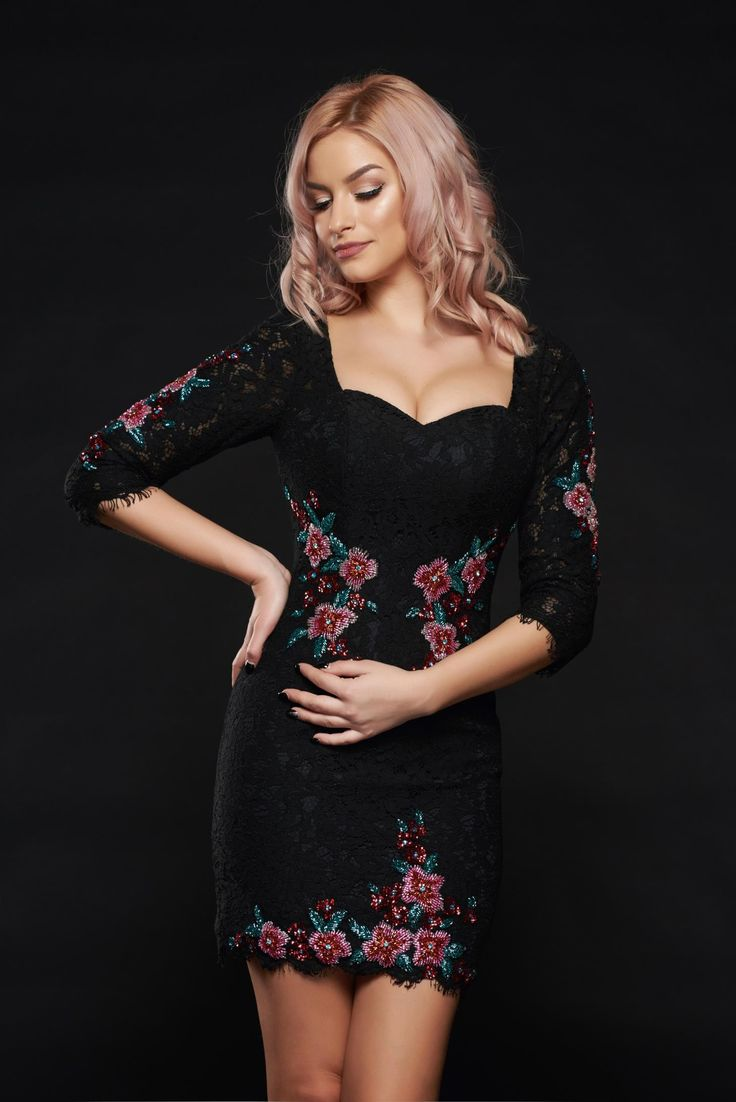 Sherri Hill 50605 Black Dress