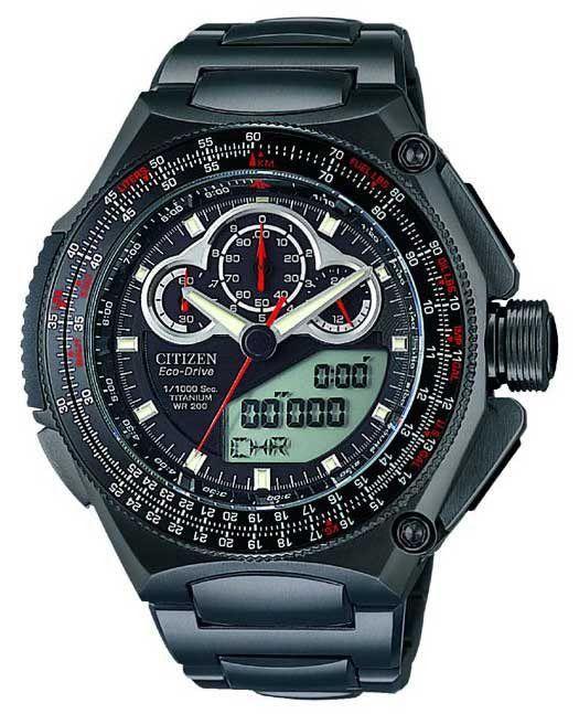 Citizen JW0035-51E Limited Edition Promaster Titanium Watch