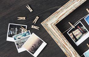 Sichere Dir jetzt Deine Retro Polaroid Vorlage als free printable zum kostenlosen Download ❤ Einfach eigene Bilder einfügen und bequem zuhause oder bei myposter drucken!