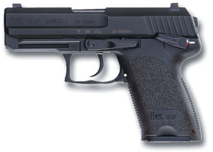 hk usp 45 | Home › HK USP Compact V1 45 ACP 8rd