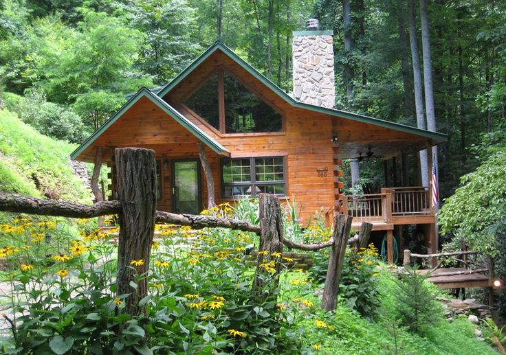 Smoky Mountains Cabins | ... in a green hollow in the heart of the great smoky mountains of north