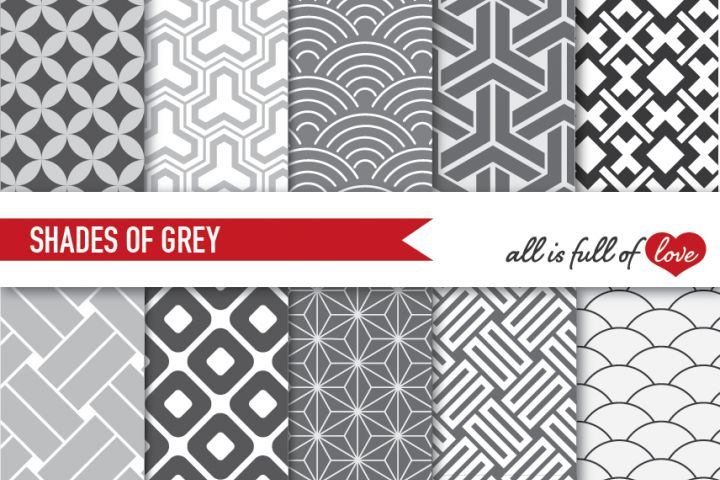 Grey Japanese Backgrounds Gray Digital Graphics Printable from DesignBundles.net