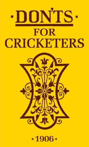 66 best books images on pinterest biography book clubs and a well book donts for cricketers fandeluxe PDF