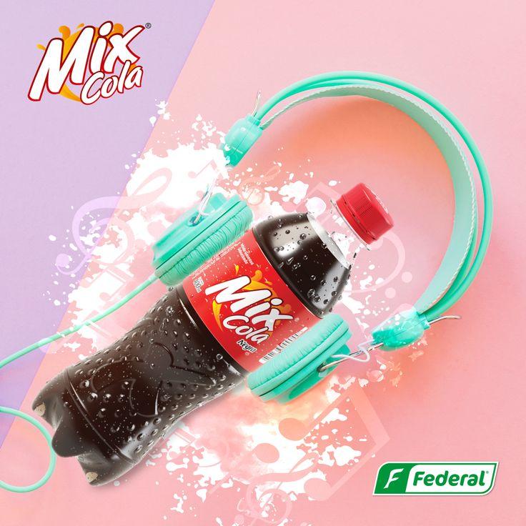 ¡Dale un Mix a tu día¡  Acaba con la aburrición de la rutina y mezcla el sabor de una Mix Cola con esa canción que tanto te gusta, para que tus días tengan la alegría que buscas. #DondeHayMixHayFlow