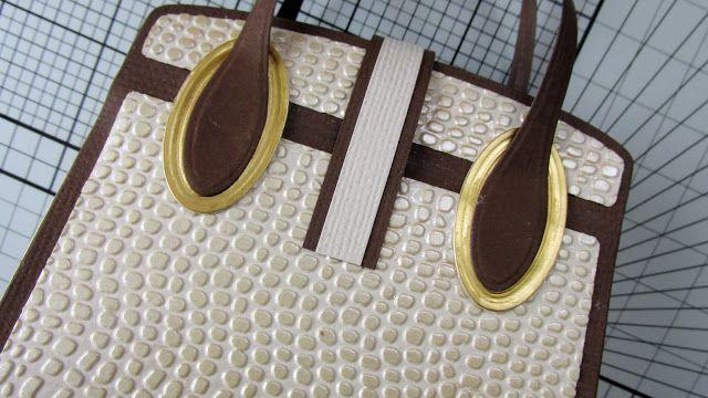 Blog Tonic: Tutorial - Kensington Handbag/Gift Box die set - Ruth