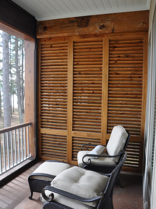 porch privacy screen back porch pinterest