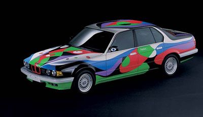 1990 BMW 730i by Cesar Manrique - front side view