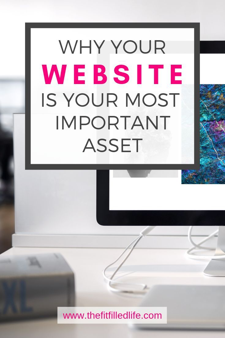 Why Your Website Is Your Most Important Asset The Fitfilled Life Online Business Business Marketing Design Business Website