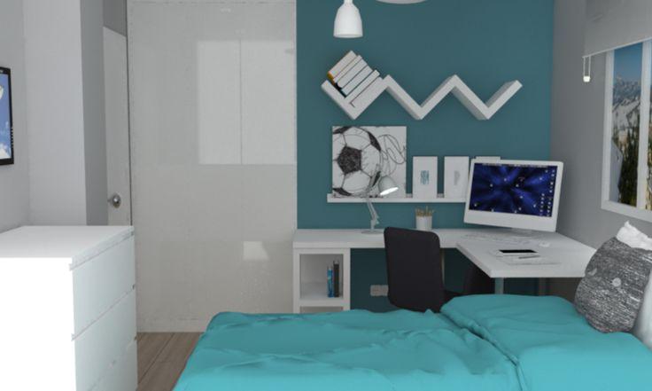 Habitación de Álvaro