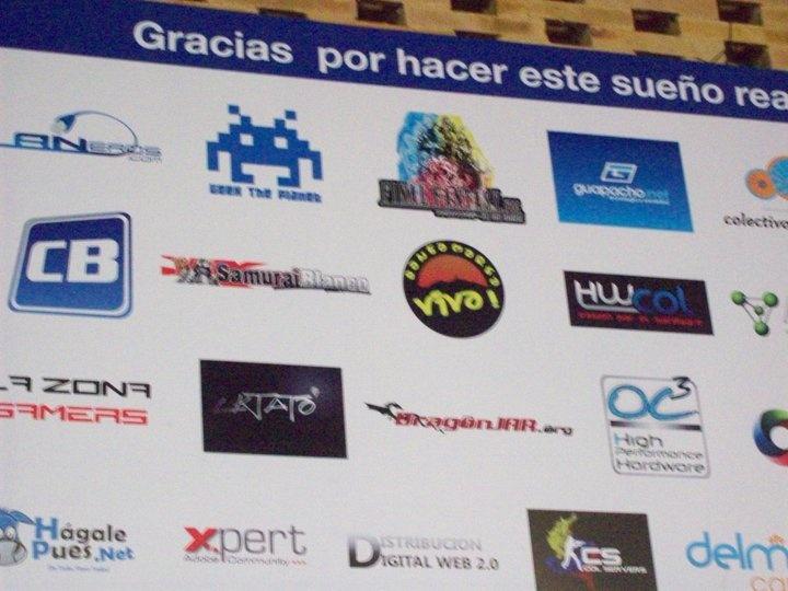 [Foto] #SantaMartaViva Comunidad Digital presente en la Campus Party 2011 #CPCO5