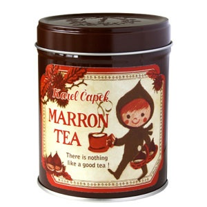 Rakuten: [Karel Capek tea shop X CoCo-Hico] Karel Capek (Karel Capek) ☆ marron tea 2012☆- Shopping Japanese products from Japan