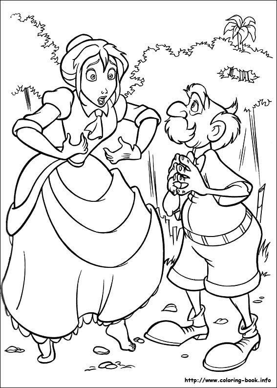 52 best Coloring Pages/LineArt-Disney-Tarzan images on