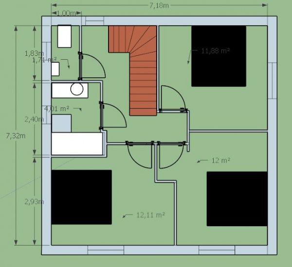 Les 25 meilleures id es concernant plan maison 120m2 sur for Maison conteneur 120m2