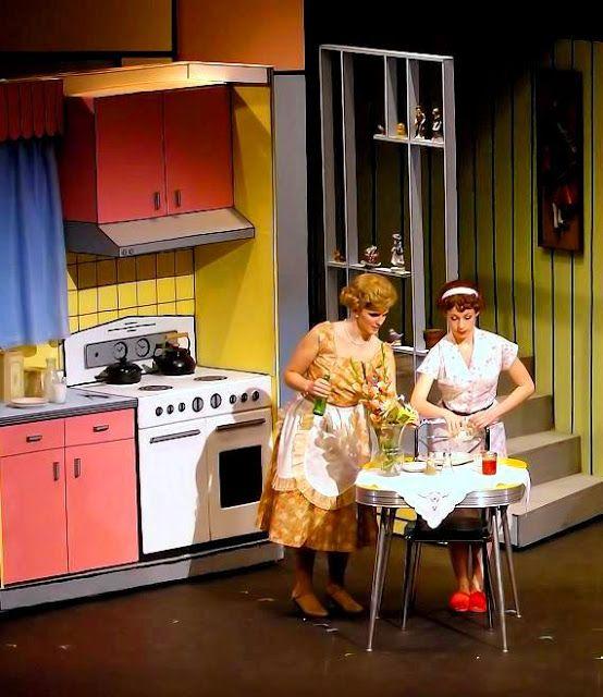 Kitchen Sets On Stage