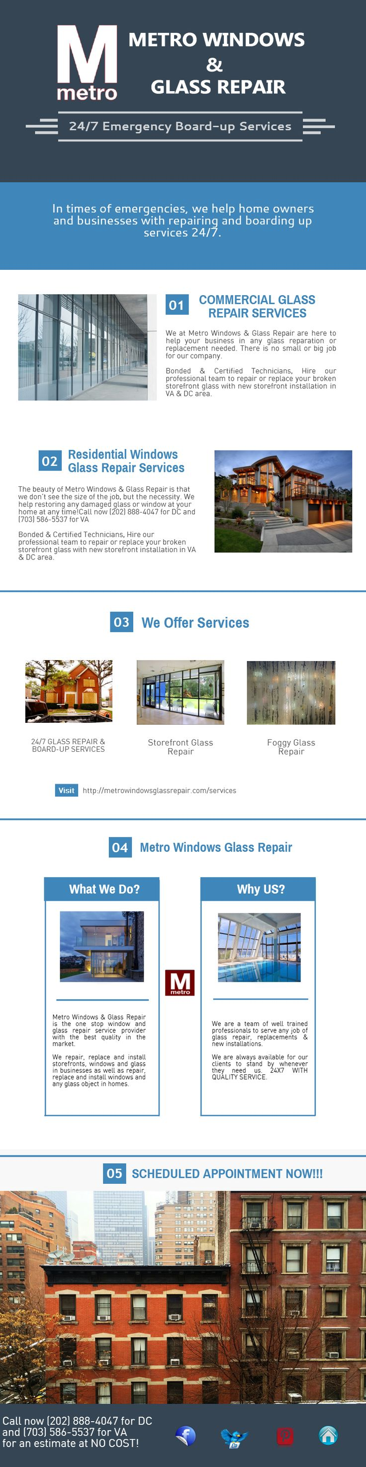 Looking for fast & reliable storefront installation in DC? MWG Repair offers reasonable glass replacement in residential or commercial area. Call on (202) 888-4047