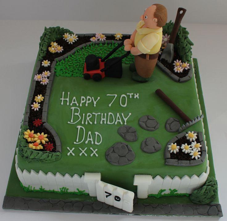 a gardeners birthday cake