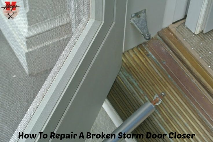 "Above given steps were the perfect ""DIY"" to get rid of broken storm door closer and repair it faster."
