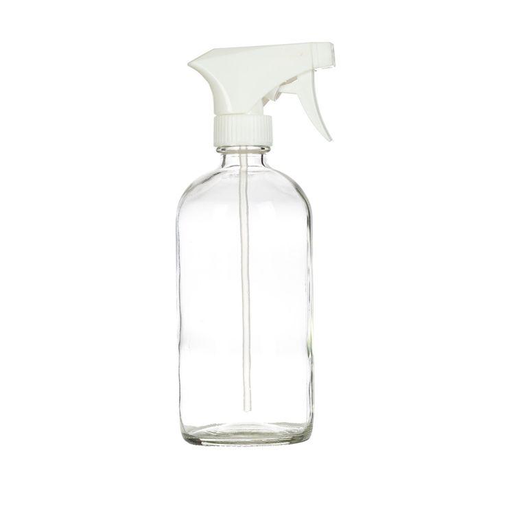 Glass Spray Bottle, 16 oz