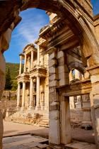 Library of Celcus in ancient town of Ephesus, Turkey