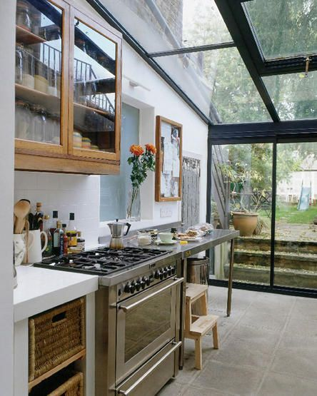 Galley Kitchen Extension: 17 Best Images About Small Rooms On Pinterest