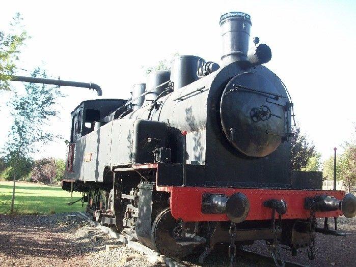Locomotora de vapor 050-T (Saint Leonard, Bélgica, 1927) Cesión:  Museo de la Minería de Puertollano, Ciudad Real  Pieza IG: 00088