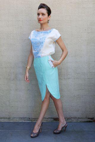 cyrene blouse