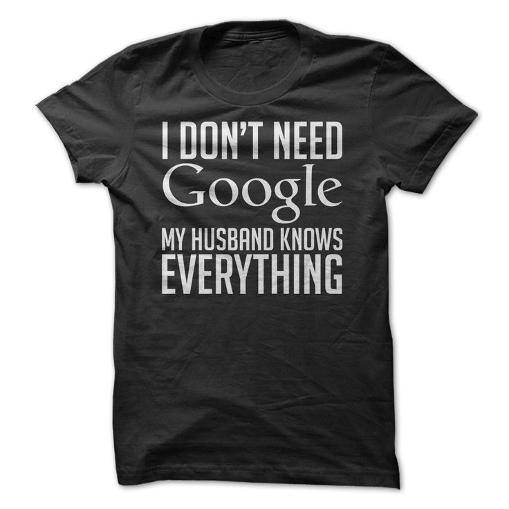 Man I neeeed this shirt. (Even if the only reason he knows everything is because he looks it up on google right away. :P)