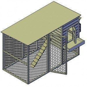 Steigerhout konijnenhok nodig? Klik hier voor gratis bouwtekeningen!